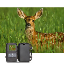 Portable Wildlife Hunting Camera 12MP HD Digital Infrared Scouting Trail Camera 940nm IR LED Night Vision Camera Black Light