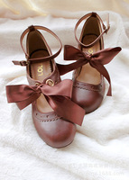 New Lolita Lolita Cosson Girls'day Ribbon Ballet Ladies' Shoes, Girls'single Shoes And High heeled Shoes size35 40