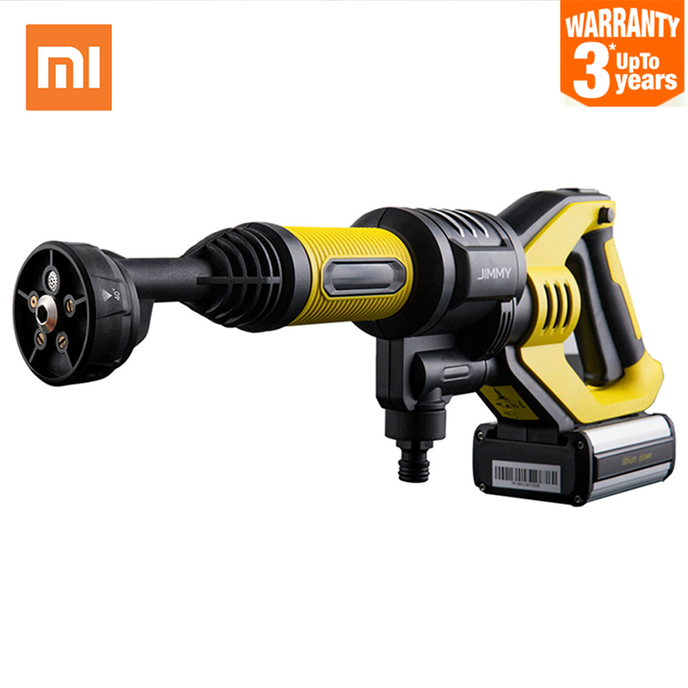 Xiaomi JW31 Wireless Car Flush Gun Washing Gun Cordless Water Power Cleaner Garden Washer 5 Modes Adjustable Hose 6M Length
