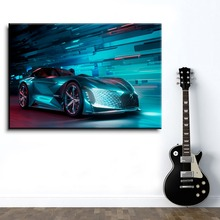 Modern Canvas HD Prints Type Home Decoration 1 Piece Artistic Cool Concept Super Car Poster Bedroom Wall Art Modular Picture