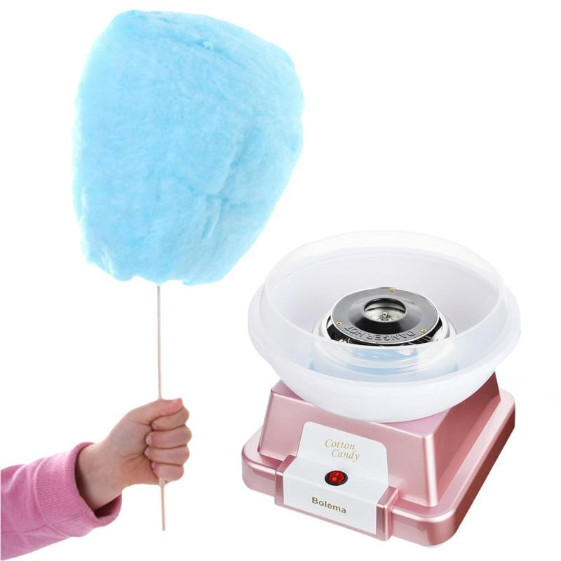 купить Home Mini Electric Automatic Sweet Cotton Candy Maker Sugar Floss DIY Machine Kids Children Gift Household Cotton Candy Maker по цене 5099.81 рублей