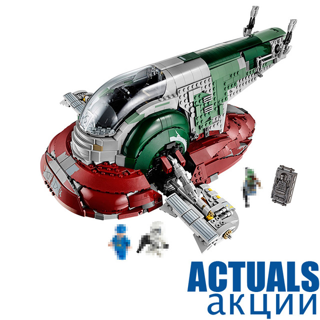 UCS Slave I LEPIN STAR 05037 WARS Model 2067pcs Building Block Bricks Mini  Toys for Children Kits Movie Figures Compatible 75060-in Blocks from Toys &