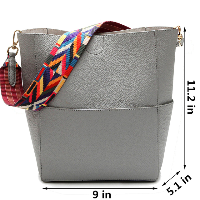 DAUNAVIA Luxury Handbags Women Bag Designer Brand Famous Shoulder Bag Female Vintage Satchel Bag Pu Leather Gray Crossbody ND549