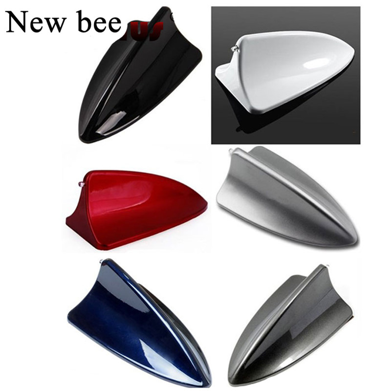 White Shark Fin Shape Decorative Antenna Car Roof  Dummy Aerial for Buick