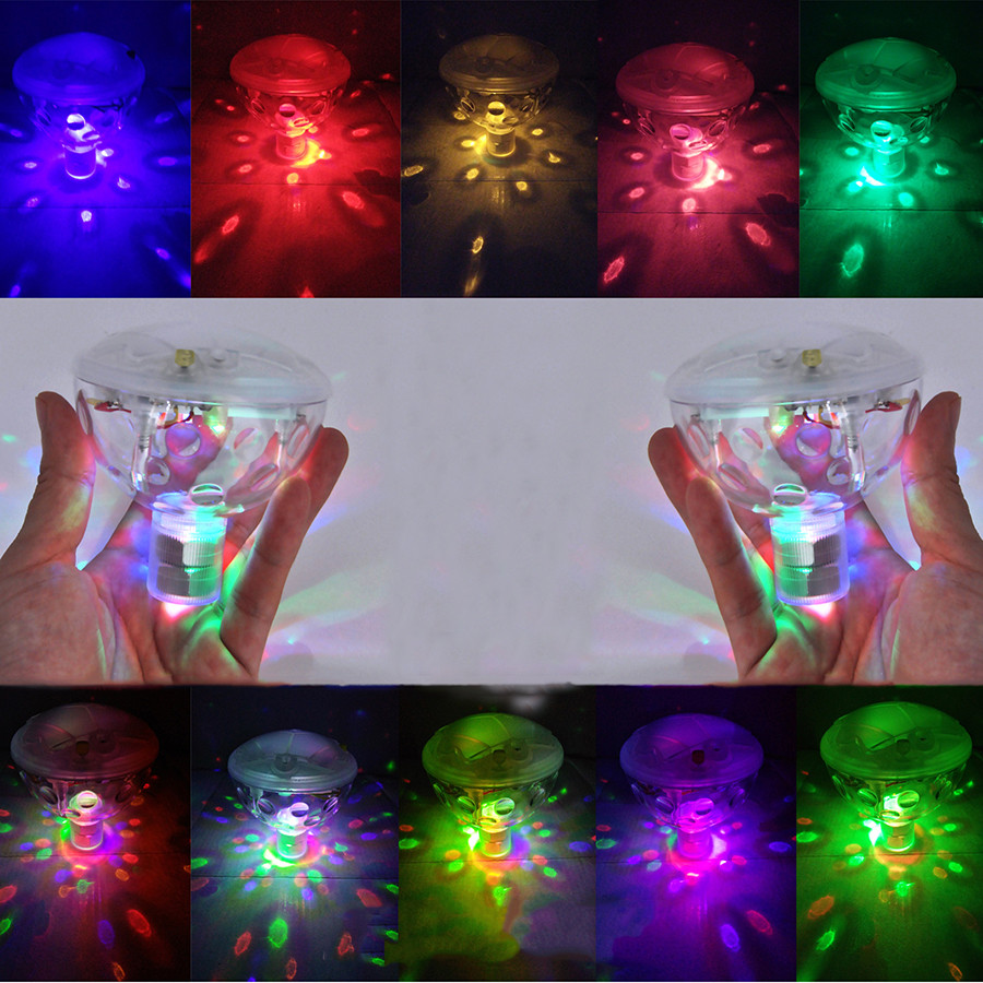 AAA Battery Powered Underwater Fountain Light Disco Spa
