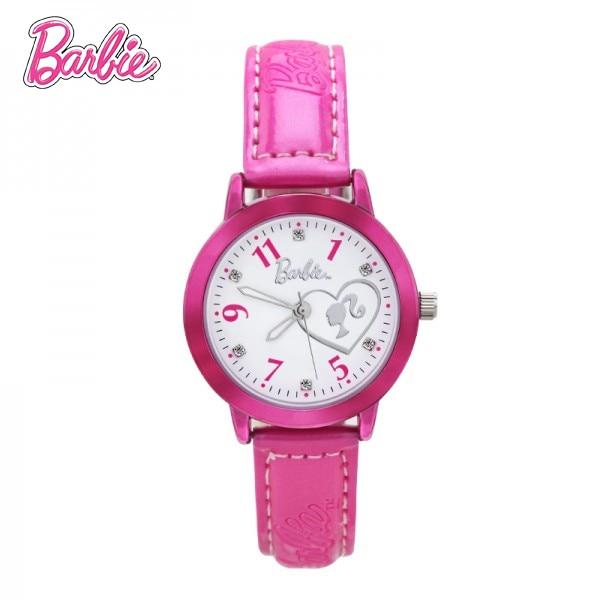 100% Подлинная Барби Бренд часы роскошные часы женщины Барби Принцесса смотреть девушки reloj mujer Кварцевые Наручные Часы BA00125-2