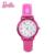 100% Genuine Barbie Barbie Princesa relógio relógio Marca de relógios de luxo mulheres meninas relógios de Pulso de Quartzo reloj mujer BA00125-2