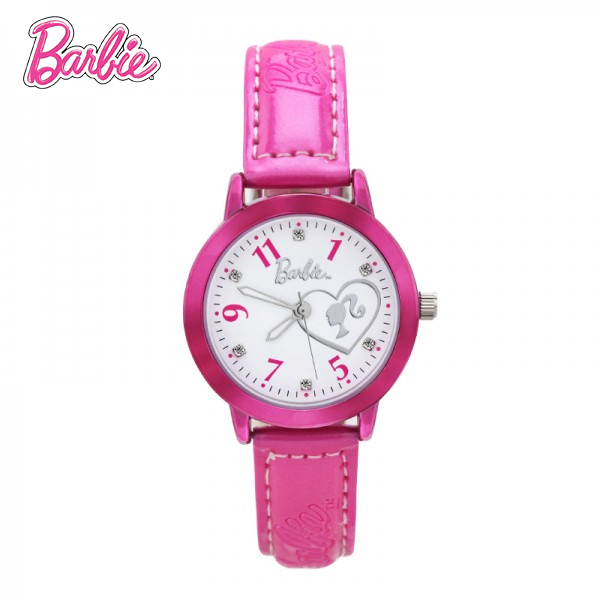 100% Genuine Barbie Brand watch luxury watch women Barbie Princess watch girls reloj mujer Quartz Wristwatches BA00125-2