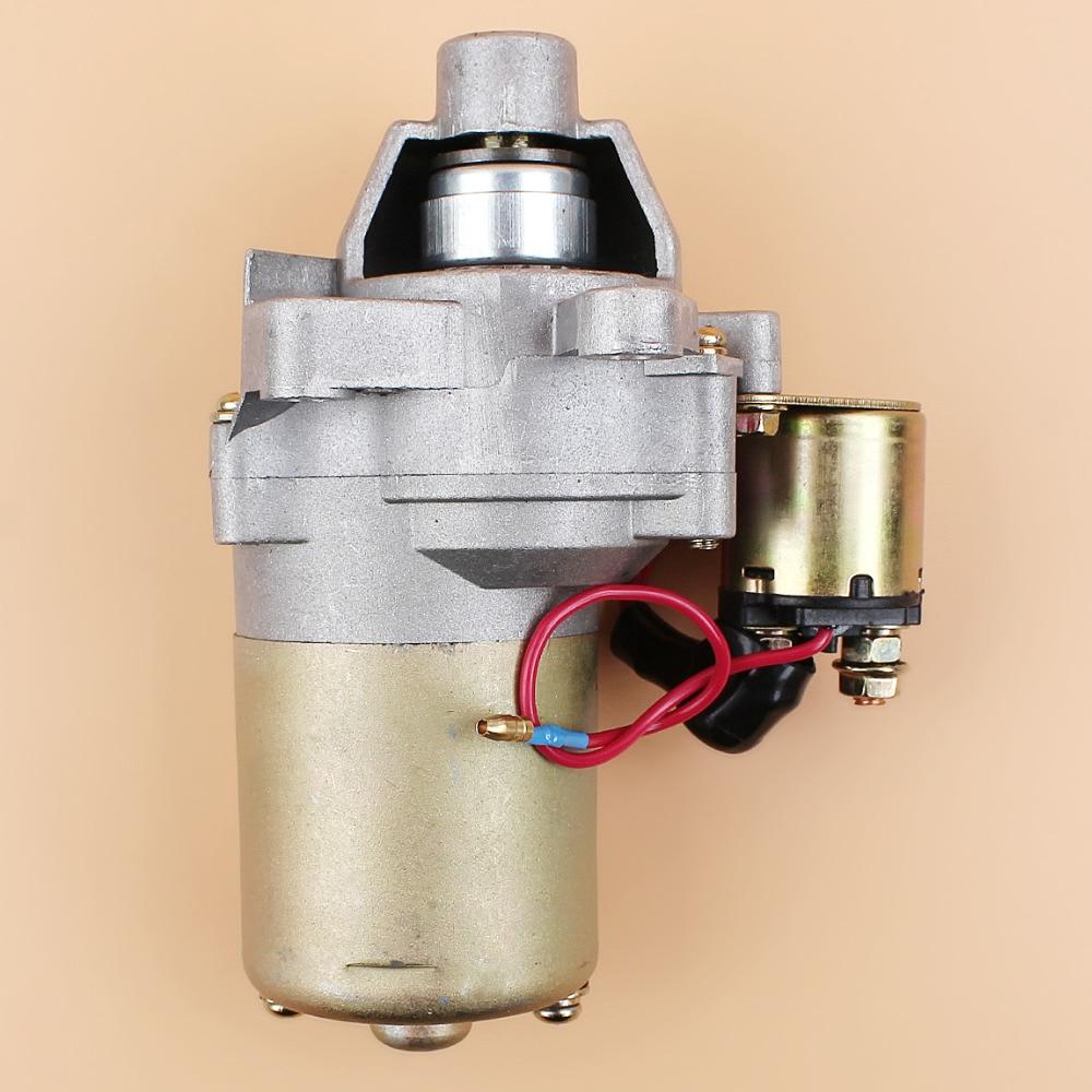 Starter Motor  amp  Solenoid For HONDA GX160 GX200 GX 160 200 168F 5 5Hp 6 5HP Compressor Generator Small Engine 31210-ZE1-023