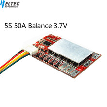 5S 50A BMS Board/ 55A 3.7V Lithium battery protection board/3.2V iron phosphate/LiFePO4 battery BMS board with Balance цена