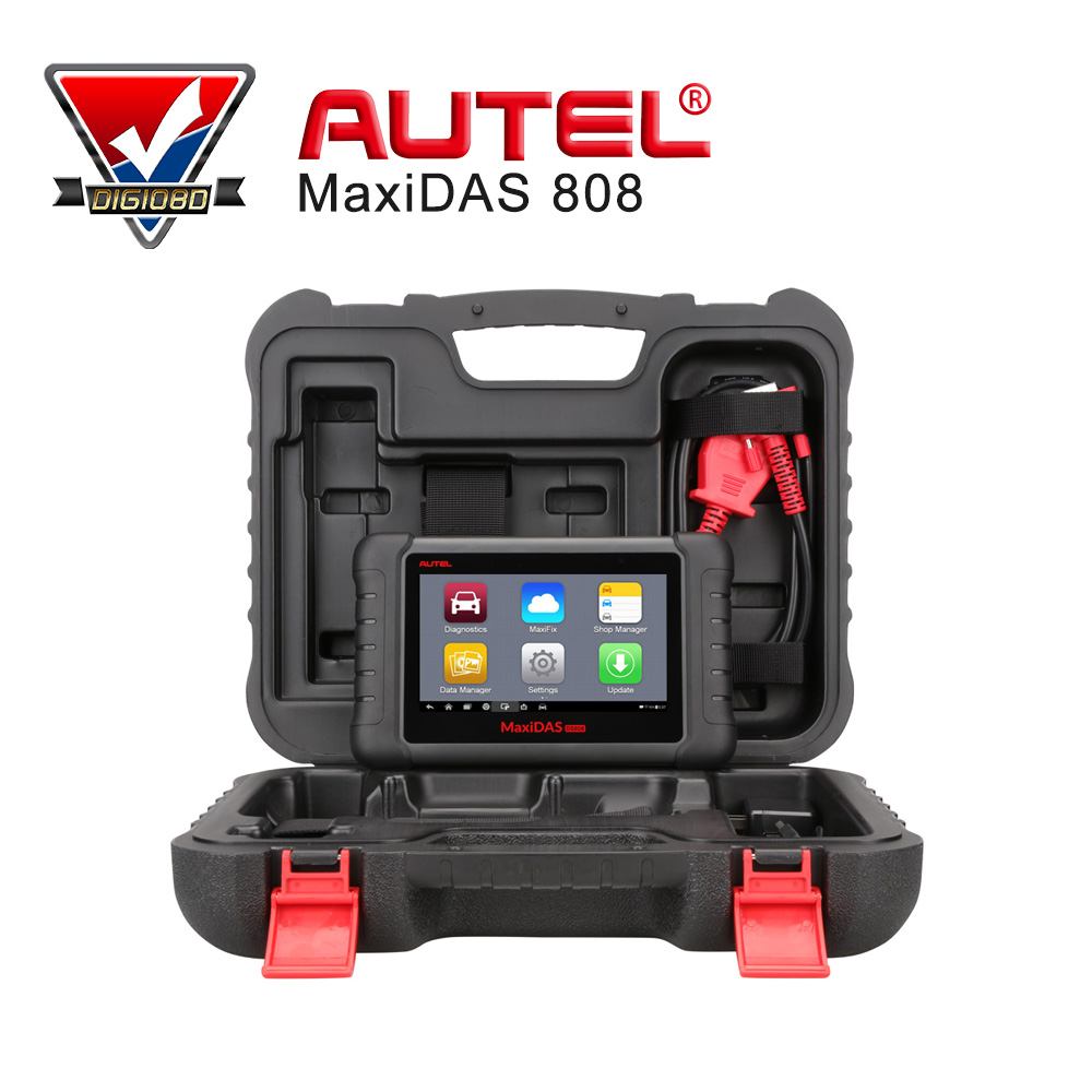 Autel MaxiDAS DS808 Automotive Diagnostic and Analysis System supports Android system UPDATE VERSION from Autel DS708 original autel maxitpms ts501 with obd2 adapters tpms diagnostic