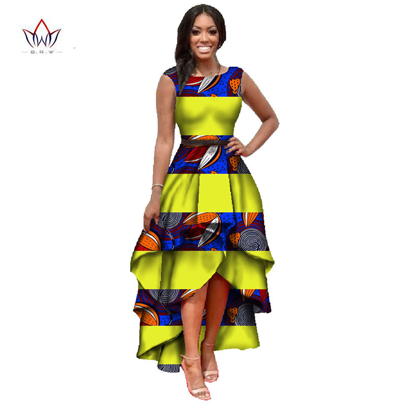 African American Girls Fashion: African Clothes For Women O Neck African Dashiki Dresses