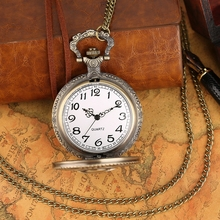 Anime One Piece Chain Pocket Watch Vintage