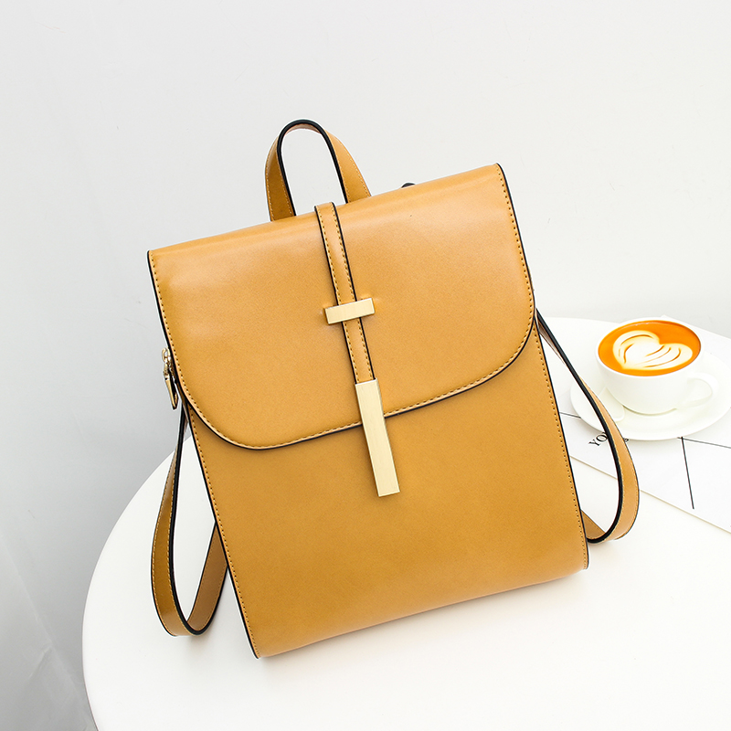 A1711 Leather Backpacks for Teenage Girls Female School Shoulder Bag Bagpack mochila Hot slale Women Backpack