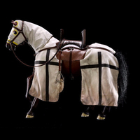 Collectibles Toys H03B 1 6 The Crusaders War Horse Brown Horse For Teutonic Knithgs Europen Medieval