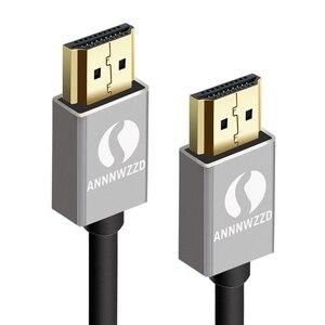 Image 2 - ANNNWZZD Cáp HDMI 2.0 4K 1080P Kết NỐI HDMI TO HDMI 5 M 1m Dây Cáp HDMI 10m adapter 3D cho TIVI LCD Laptop PS3 máy chiếu máy tính
