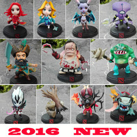 WOW DOTA 2 Kunkka Lina Pudge Queen Tidehunter CM FV PVC Action Figures Collectible Toys 7pcs/lot
