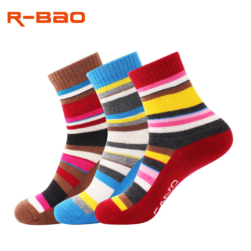 R-Bao Professional Hiking Socks Women Warm Cotton Skiing Trekking Mountaineering Cycling Socks Outdoor Sports Running W28