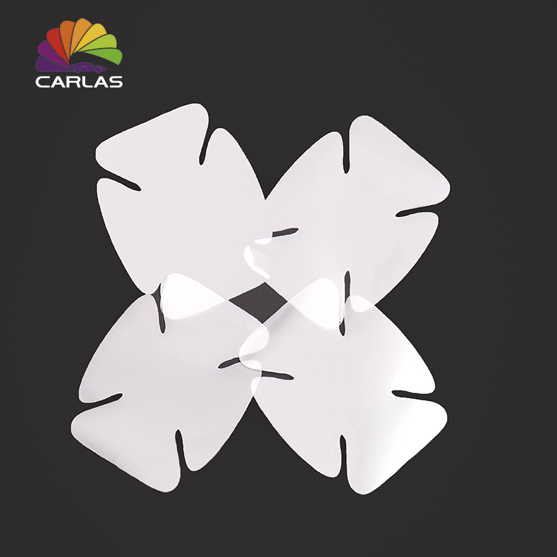 Image 2 - CARLAS 4Pcs/Lot Car Handle Protection Film Car Exterior Transparent Sticker Automotive Auto Accessories Car Styling Car sticker