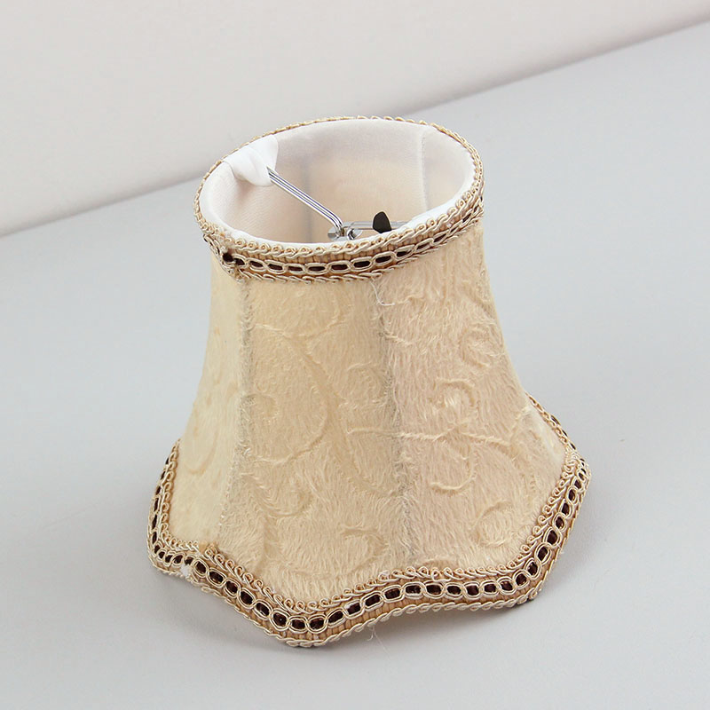 Flannel lamp shades lampshade lamp covers Clip on