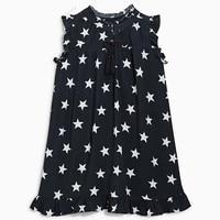 Children's Dress Girls Pure Cotton Star Princess Dresses Wholesale 2017 Korean Kids Sleeveless Dress 3-7 Years