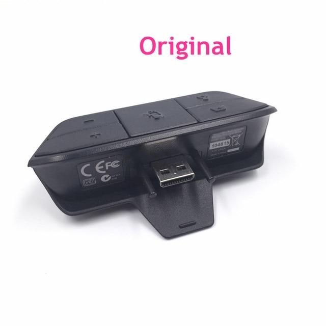 US $18 99  E rumah Asli 90% Baru Stereo Headset Adapter Penggantian untuk  Xbox satu controller adaptor stereo di Suku Cadang & Aksesoris dari