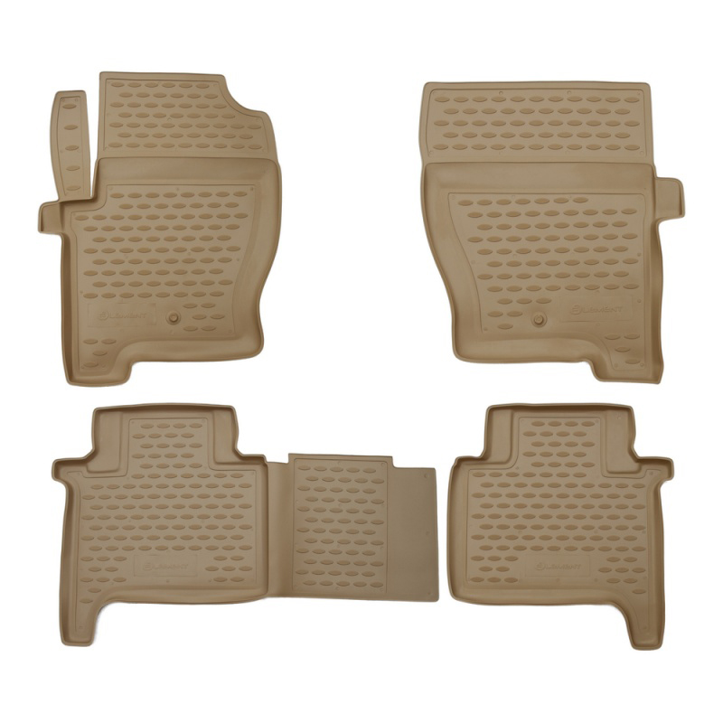 Фото - Mats in the salon For LAND Rover Range Rover Sport 2005-2012, 4 PCs (polyurethane, beige) car mats 3d salon for land rover freelander 2 2013 4 pcs polyurethane