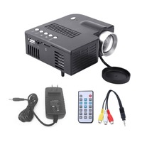 UC28A Mini Portable LED Projector 1080P LCD Multimedia Home Cinema Theater USB TF HDMI AV LED Beamer Projector for Home Use