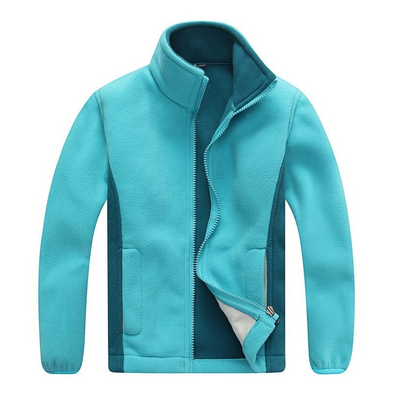Windproof Child Coat Boys And Girls Jackets Soft Polar Fleece Warm Children Outerwear Clothing For 3-12 Years Old