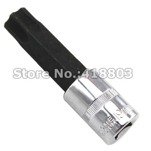 "Amicable 1/2"" Dr. 100mm Length T90 Torx Screwdreiver Socket Bit"