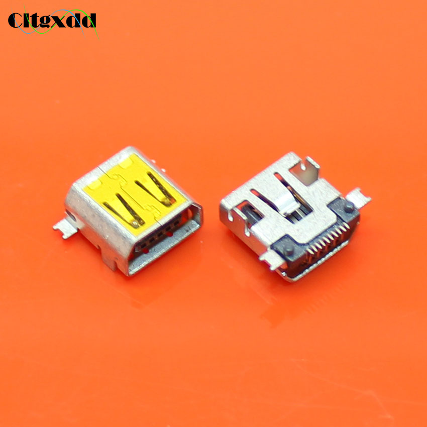 cltgxdd N-414 1PCS USB Jack Connector Phone Charging socket For MEIZU <font><b>M8</b></font> M9 USB Port tail <font><b>plug</b></font> image