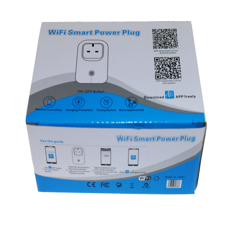 New UK Plug Wireless Remote Control Home Appliance Automation Wifi Smart Phone Power Socket Timer Switch Wall Plug Cell Phone
