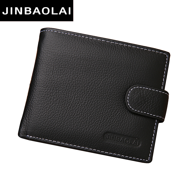 JINBAOLAI HOT genuine leather Men Wallets Brand High Qualitys