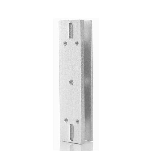 Electromagnetic Lock Series U Bracket For Magnetic Door Entry System Frameless Glass