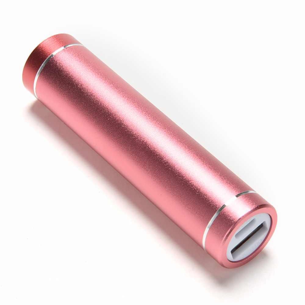 قوة البنك صندوق تخزين 18650 ليثيوم أيون شاحن بطارية فارغة قذيفة ل جهاز لوحي، هاتف خلوي الالكترونيات الخارجية USB علبة صندوق شحن