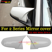 For BMW 2-Series F22 220i 228i 228ix D230i 235i High-quality ABS M-Style Pure white Rear View Side Mirror Cover Replacement 14+