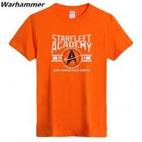 Star Trek II T Shirt Hommes Manches Courtes Coton 6.2 oz Tee chemise Homme O-cou Noir Rouge S-3XL Imprimé Starfleety Académie Nouveauté Top