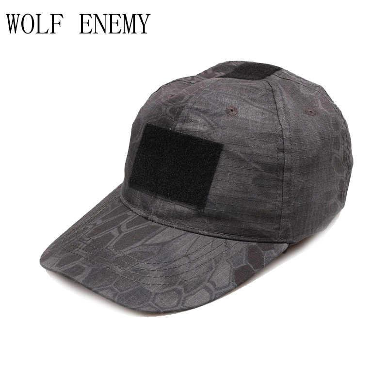 ใหม่ NOMAD หมวกเบสบอลยุทธวิธีการล่าสัตว์หมวก Kryptek Camo สีดำ Desert สีเขียว TYPHON MANDRAKE HIGHLANDER