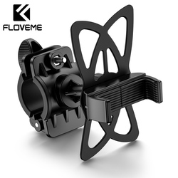 Floveme bicicleta titular para o telefone móvel motocicleta bicicleta titular telefone guiador suporte de montagem acessórios da bicicleta 4 accessories '-5.5''
