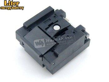 QFN48 MLP48 MLF48 QFN-48(52)BT-0.4-01 Enplas QFN 6x6 mm 0.4Pitch IC Test Burn-In Socket with Ground Pin