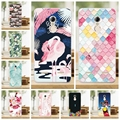 K6 Case Cover Lenovo Vibe K6 Case Mermaid  Painting Soft Silicone TPU Phone Protective Back Cover Lenovo K6 5.0 inch Case