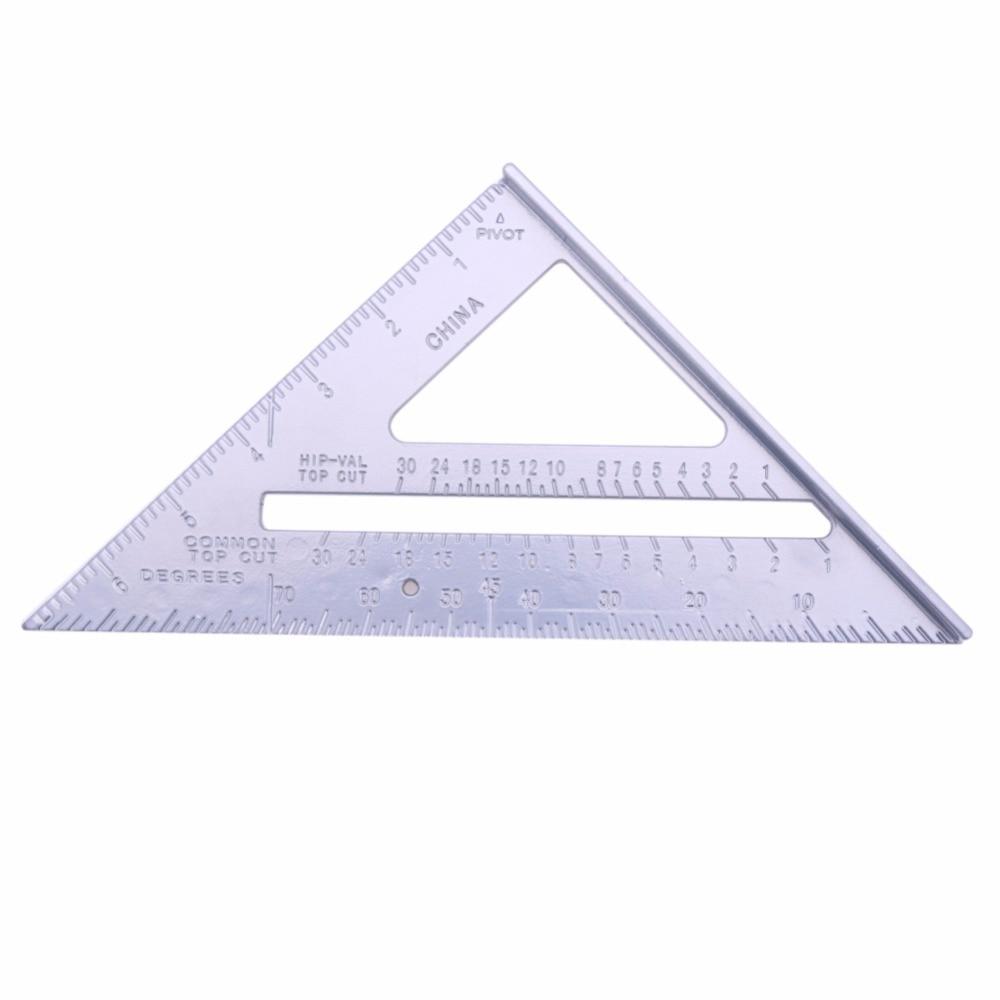 Aluminum Alloy Speed Protractor Miter Framing Line Scriber Saw Guide Measurement Inch Carpenter Ruler food security measurement guide