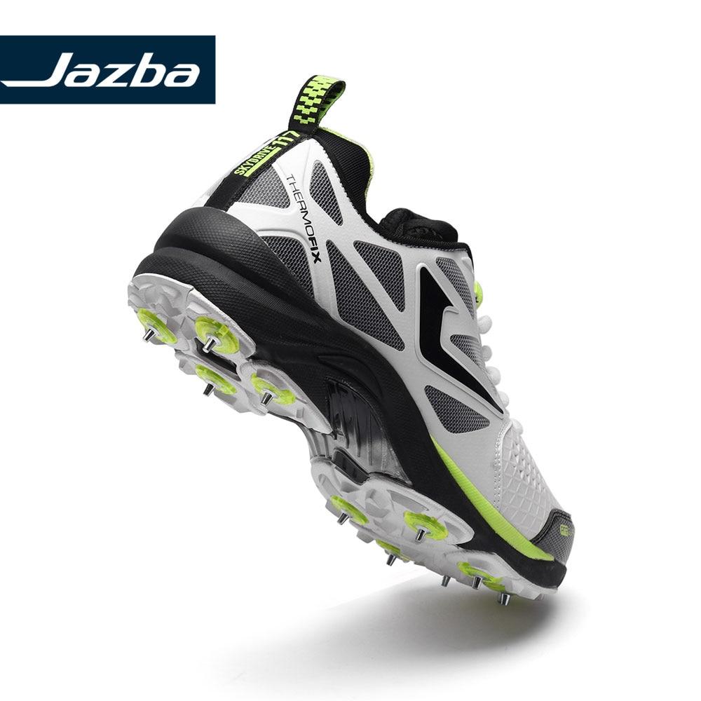 Jazba SKYDRIVE 117 Männer der Cricket Multi Spike Professionelle Licht Sport Turnschuhe Metall Klampe Außen Schutz Training Schuhe - 3