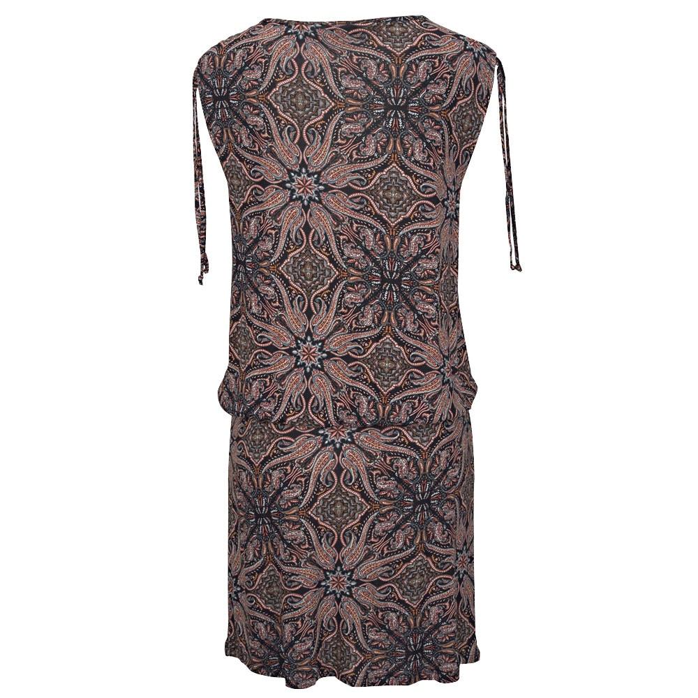 HTB1mgpbVFzqK1RjSZFoq6zfcXXaa MISSOMO women dress summer 2019 Casual Sleeveless Retro Print Beach Mini Dress Beach Dress vestidos de verano