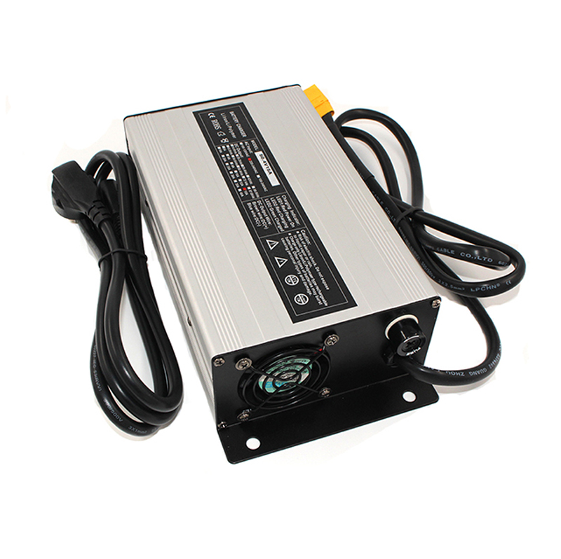 50.4V 12A Charger lithium ion battery charger  12S 44.4V li-ion battery charger фото