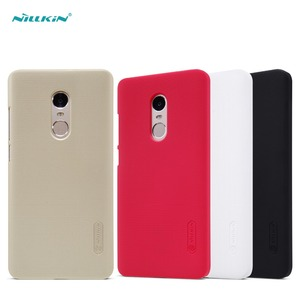 For redmi note 4 case Nillkin frosted hard plastic back protective cover For redmi note4 mobile phone case Screen Protector