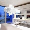 Большая распродажа  современный подвесной светильник Большого взрыва  потолочное освещение  люстра диаметром 65 см/91 см  Бесплатная доставк...