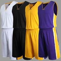 Throwback Cheap Basketball Jersey Men Breathable Blank Custom Basketball Training Uniforms