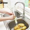 Экономии воды Кран Фильтр Растительное Кисти Щетка Для Очистки Кухня Tap Насадка Для Душа