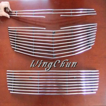 High Quality Stainless Steel Front Grille Trim Racing Grills Trim For 2009-2012 Chevrolet Cruze